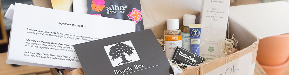 Trying An Irish Natural Beauty Subscription Box Full Review